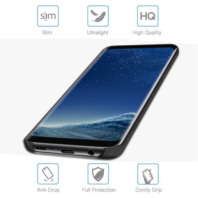 Handyhülle für Samsung Galaxy S8 Backcover Kunstleder Case