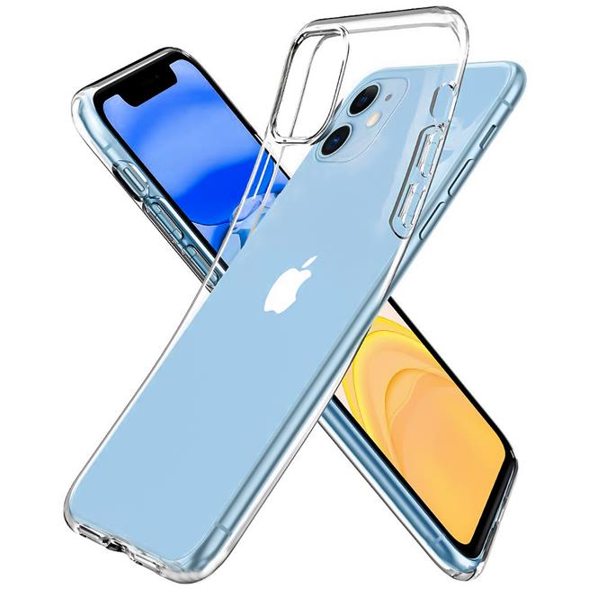 Schutzhülle für Apple iPhone 11 Hülle Transparent Slim Cover Clear Case