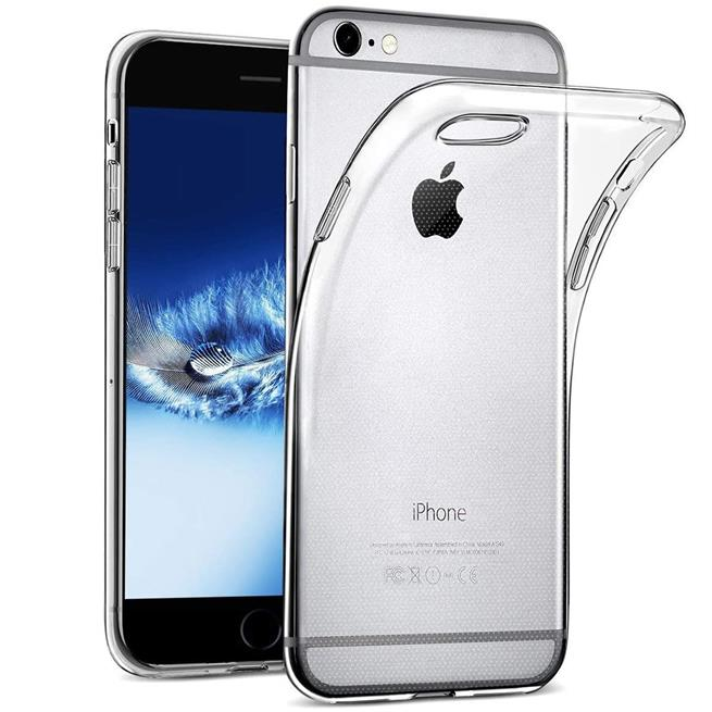 Schutzhülle für Apple iPhone 6 6S Hülle Transparent Slim Cover Clear Case