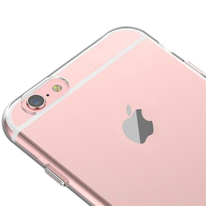 Schutzhülle für Apple iPhone 6 / 6S Backcover Ultra-Clear Case