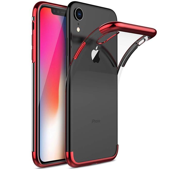 Transparente Silikonhülle für Apple iPhone XR Handy Schutz Case