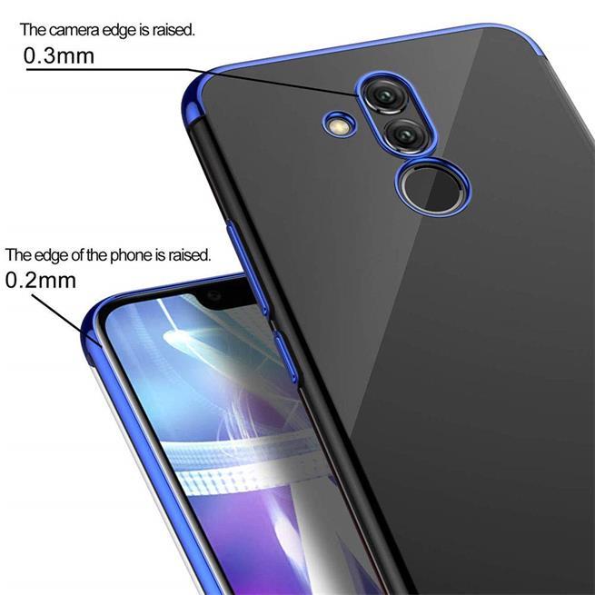 Transparente Silikonhülle für Huawei Mate 20 Lite Handy Schutz Case