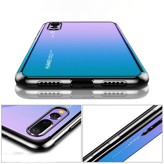 Transparente Silikonhülle für Huawei P20 Handy Schutz Case
