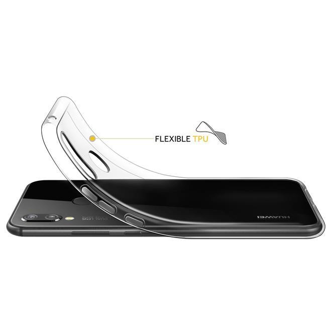 Transparente Schutzhülle für Huawei P20 Lite Backcover Ultra-Clear