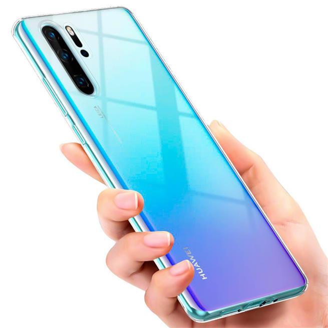 Schutzhülle für Huawei P30 Pro Hülle Transparent Slim Cover Clear Case