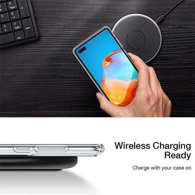 Schutzhülle für Huawei P40 Pro Hülle Transparent Slim Cover Clear Case