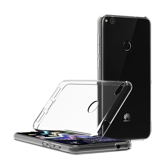 Schutzhülle für Huawei P8 Lite 2017 Hülle Silikon Backcover Ultra-Clear Case im transparenten Design in Transparent