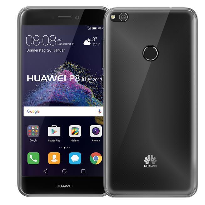 Transparente Schutzhülle für Huawei P8 Lite 2017 Backcover Ultra-Clear