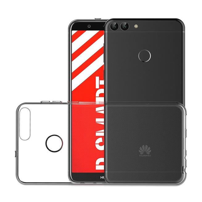 Schutzhülle für Huawei P Smart Hülle Silikon Backcover Ultra-Clear Case im transparenten Design