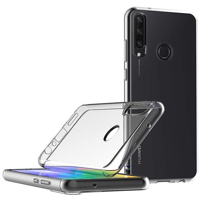 Schutzhülle für Huawei Y6p Hülle Transparent Slim Cover Clear Case