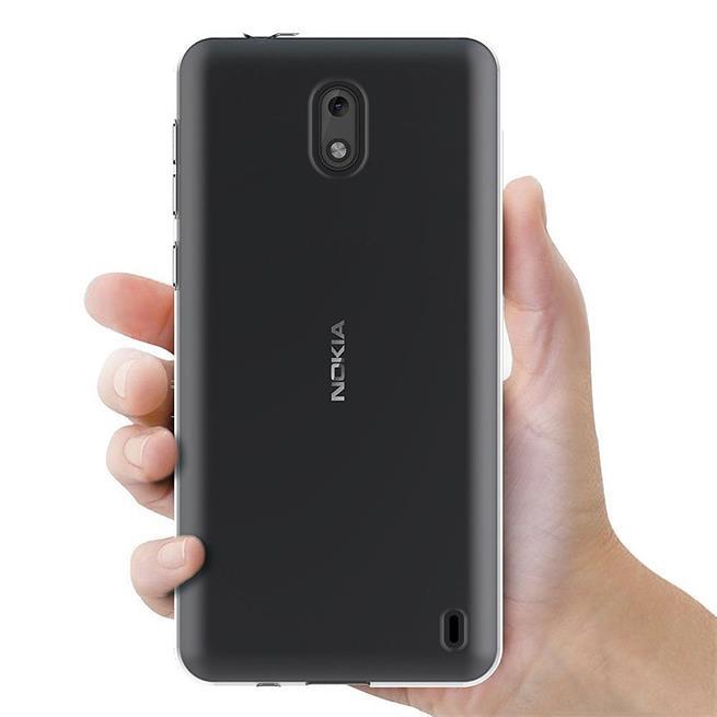 Schutzhülle für Nokia 1 Hülle Silikon Backcover Ultra-Clear Case im transparenten Design