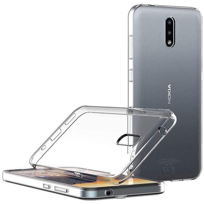 Schutzhülle für Nokia 2.3 Hülle Transparent Slim Cover Clear Case