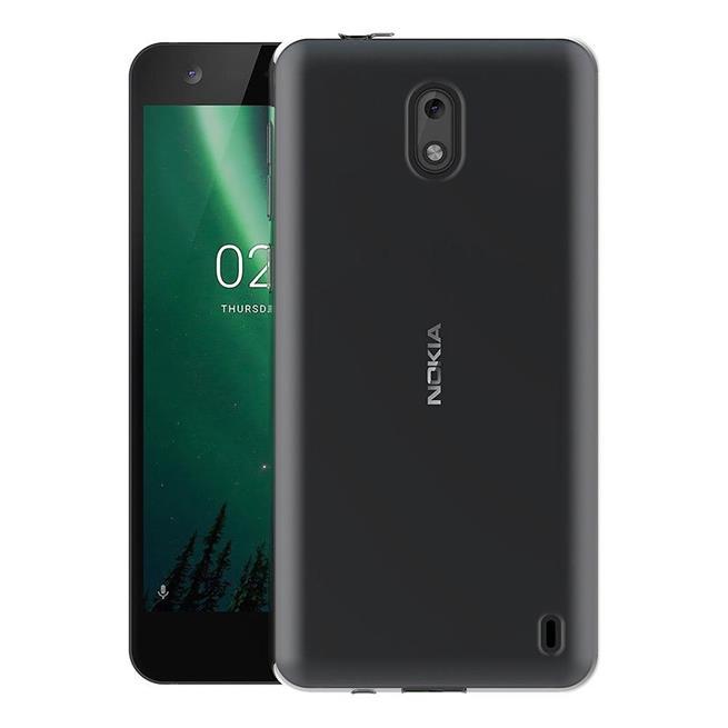 Schutzhülle für Nokia 2 Hülle Silikon Backcover Ultra-Clear Case im transparenten Design