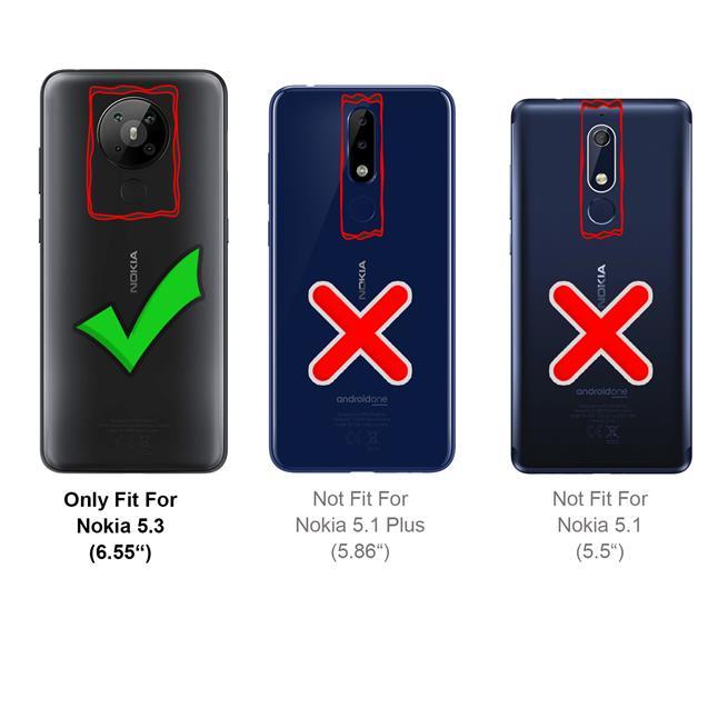 Schutzhülle für Nokia 5.3 Hülle Transparent Slim Cover Clear Case