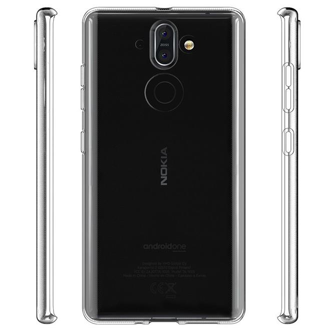 Schutzhülle für Nokia 8 Sirocco Hülle Silikon Backcover Ultra-Clear Case im transparenten Design