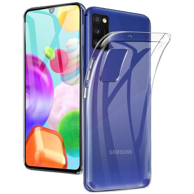 Schutzhülle für Samsung Galaxy A41 Hülle Transparent Slim Cover Clear Case