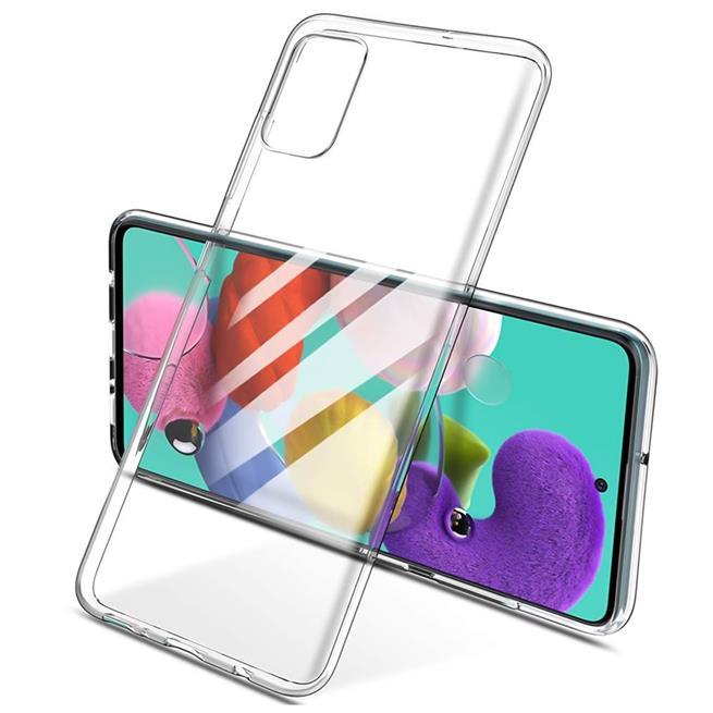 Schutzhülle für Samsung Galaxy A71 Hülle Transparent Slim Cover Clear Case