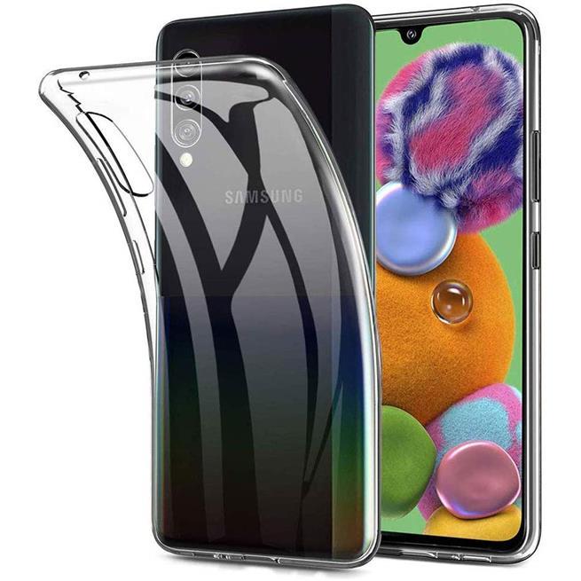 Schutzhülle für Samsung Galaxy A90 5G Hülle Transparent Slim Cover Clear Case