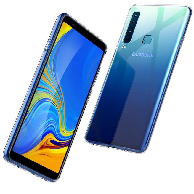 Transparente Schutzhülle für Samsung Galaxy A9 2018 Backcover Hülle
