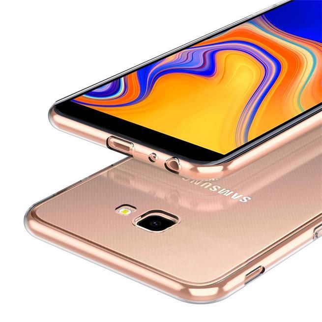 Transparente Schutzhülle für Samsung Galaxy J4 Plus Backcover Hülle
