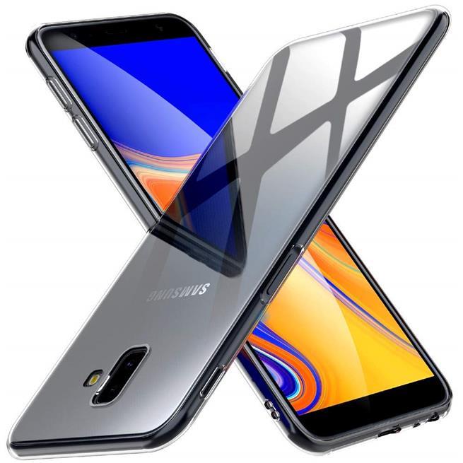 Transparente Schutzhülle für Samsung Galaxy J6 Plus Backcover Hülle