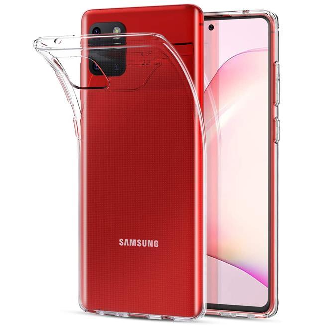 Schutzhülle für Samsung Galaxy Note 10 Lite Hülle Transparent Slim Cover Clear Case
