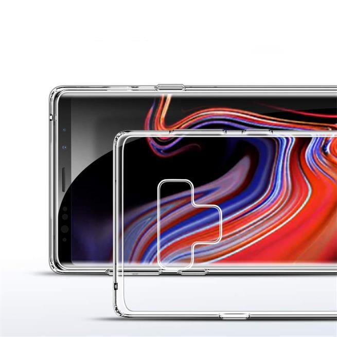 Transparente Schutzhülle für Samsung Galaxy Note 9 Backcover Hülle