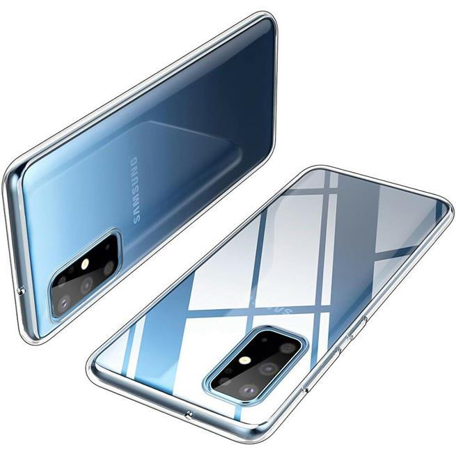 Schutzhülle für Samsung Galaxy S20 Plus Hülle Transparent Slim Cover Clear Case