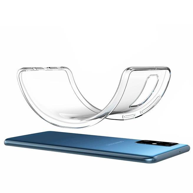 Schutzhülle für Samsung Galaxy S20 Ultra Hülle Transparent Slim Cover Clear Case