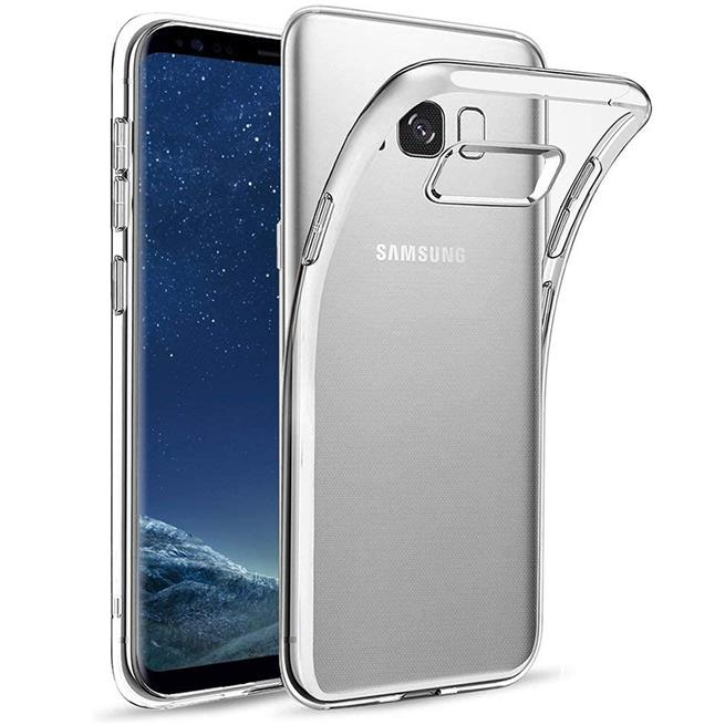Schutzhülle für Samsung Galaxy S8 Hülle Silikon Backcover Ultra-Clear Case im transparenten Design in Transparent
