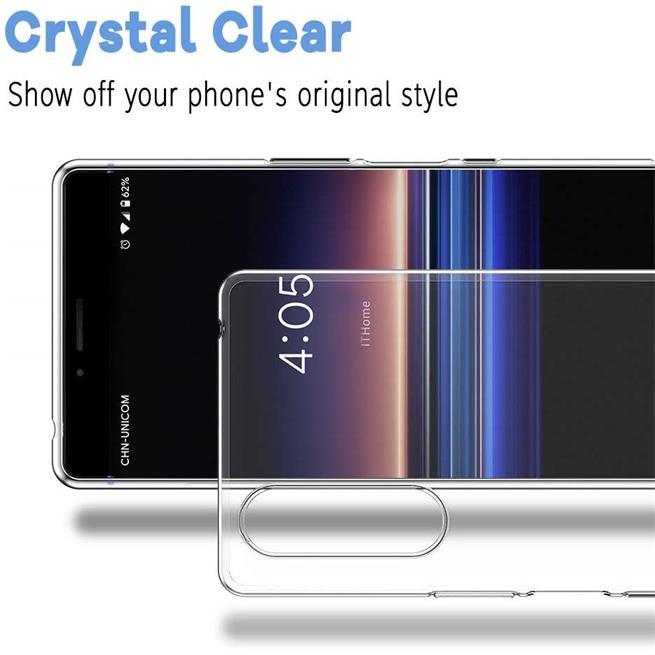 Schutzhülle für Sony Xperia 5 Hülle Transparent Slim Cover Clear Case