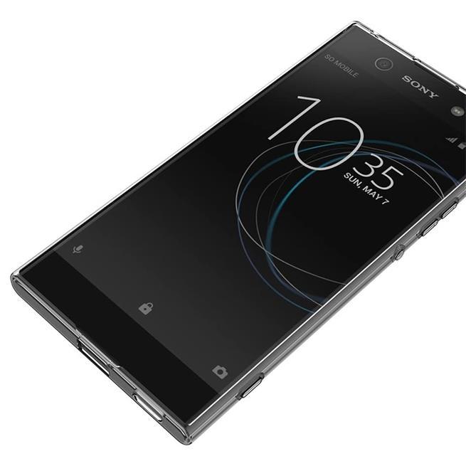 Schutzhülle für Sony Xperia XA1 Hülle Silikon Backcover Ultra-Clear Case im transparenten Design in Transparent
