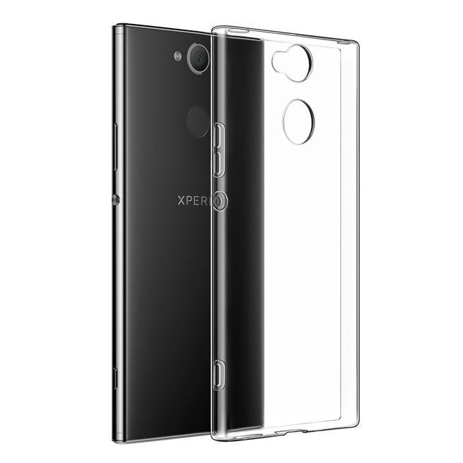 Schutzhülle für Sony Xperia XA2 Hülle Silikon Backcover Ultra-Clear Case im transparenten Design