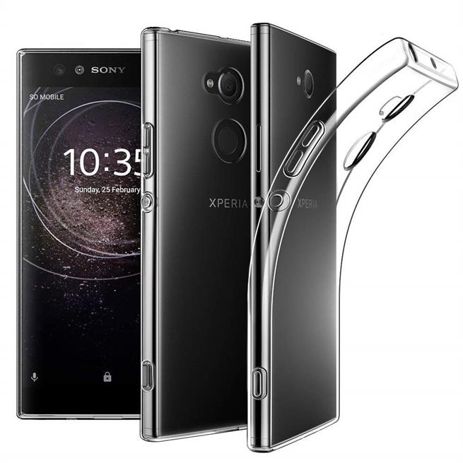 Transparente Schutzhülle für Sony Xperia XA2 Ultra Backcover Case