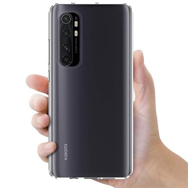 Schutzhülle für Xiaomi Mi Note 10 Lite Hülle Transparent Slim Cover Clear Case