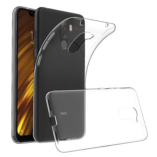 Transparente Schutzhülle für Xiaomi Pocophone F1 Backcover Hülle