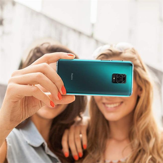Schutzhülle für Xiaomi Redmi Note 9 Pro / 9S Hülle Transparent Slim Cover Clear Case