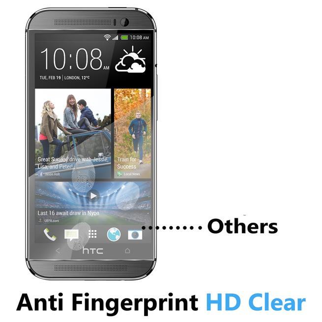 Panzerglas für HTC One M8 Schutzfolie Glasfolie 9H Ultra Clear Glas Folie