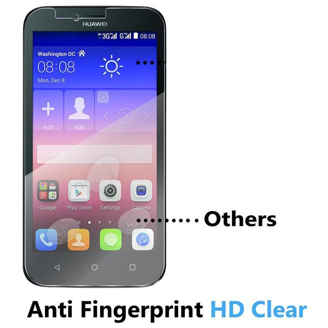 Panzerglas für Huawei Ascend Y625 Schutzfolie Glasfolie 9H Ultra Clear Glas Folie