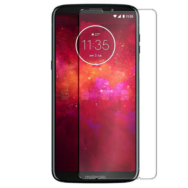 Panzer Glas Folie für Motorola Moto Z3 Play Handy Schutz Folie 9H