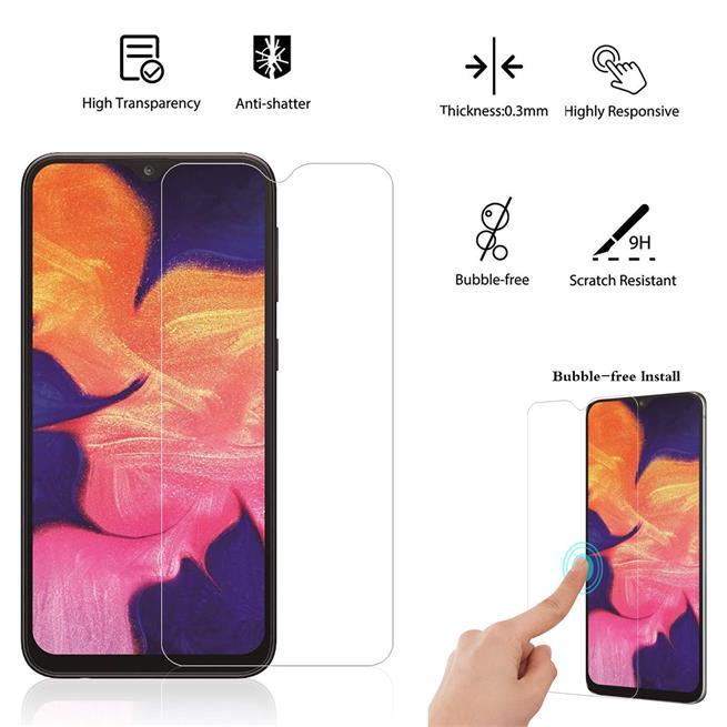Panzerglas für Samsung Galaxy Note 10 Lite Glas Folie Displayschutz Schutzfolie