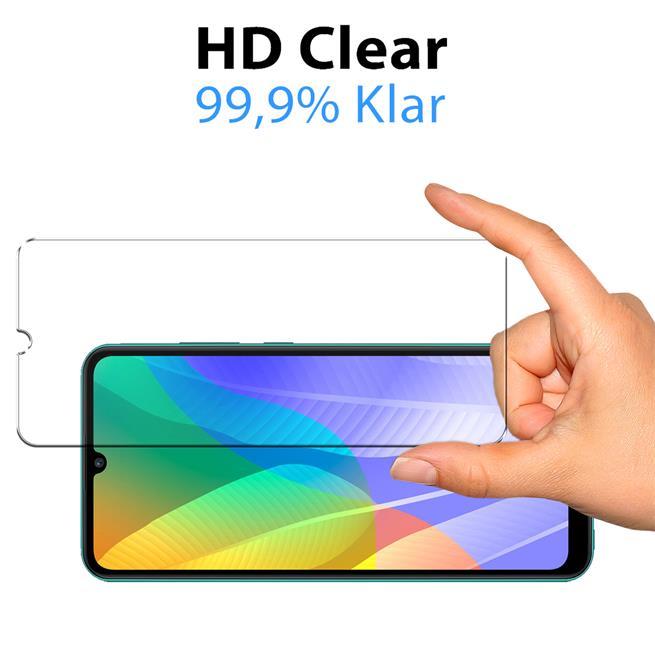 Panzerglas für Huawei Y6p Glas Folie Displayschutz Schutzfolie