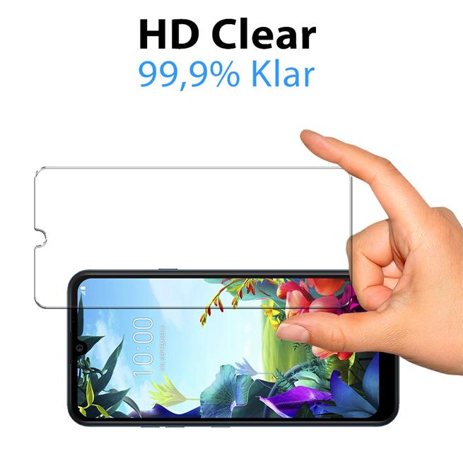 Panzerglas für LG K40s Glas Folie Displayschutz Schutzfolie