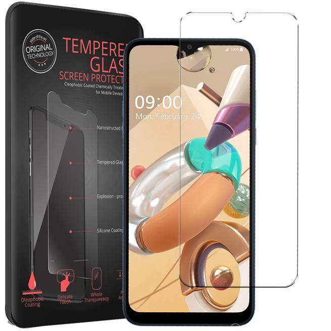 Panzerglas für LG K41s Glas Folie Displayschutz Schutzfolie