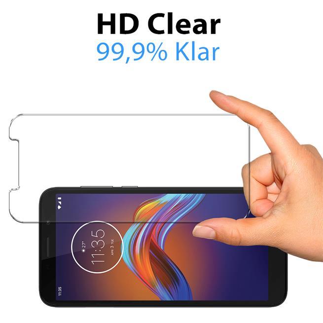 Panzerglas für Motorola Moto E6 Glas Folie Displayschutz Schutzfolie
