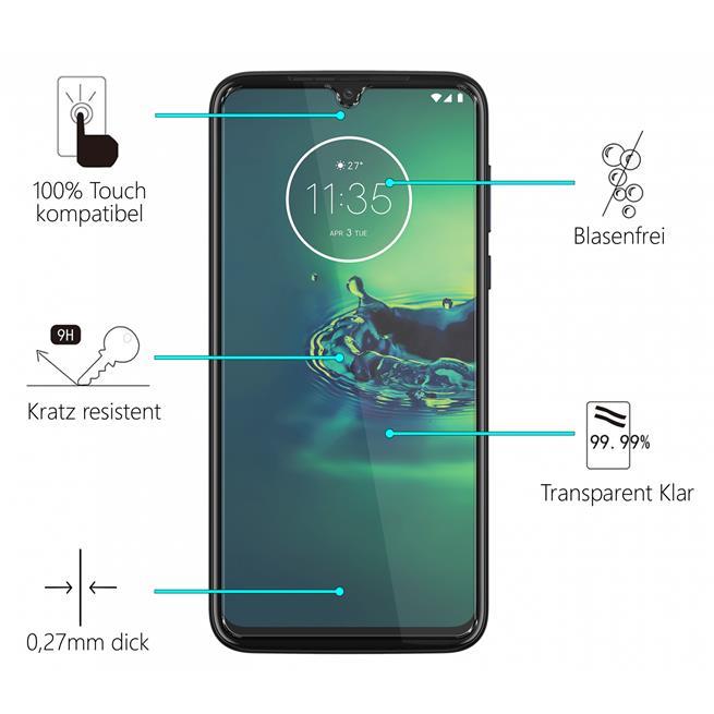 Panzerglas für Motorola Moto G8 Plus Glas Folie Displayschutz Schutzfolie