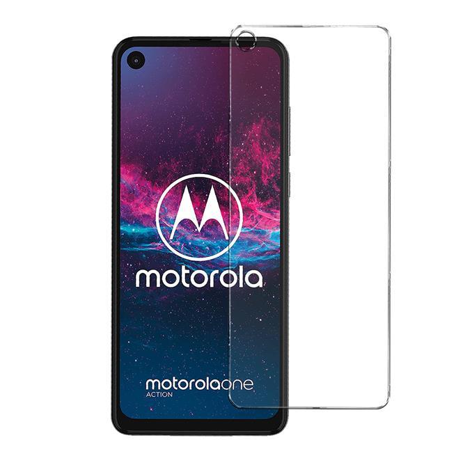 Panzerglas für Motorola One Action Glas Folie Displayschutz Schutzfolie