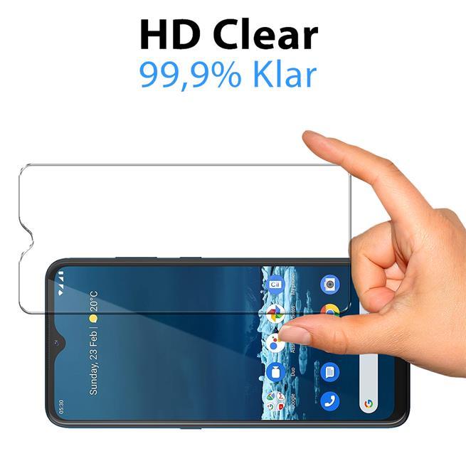 Panzerglas für Nokia 5.3 Glas Folie Displayschutz Schutzfolie