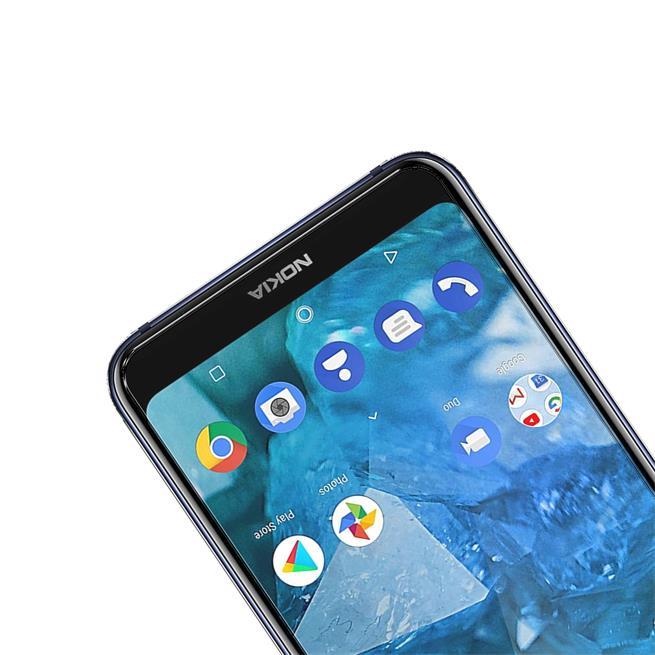 Panzerglas für Nokia 7.1 Plus Glas Folie Displayschutz Schutzfolie