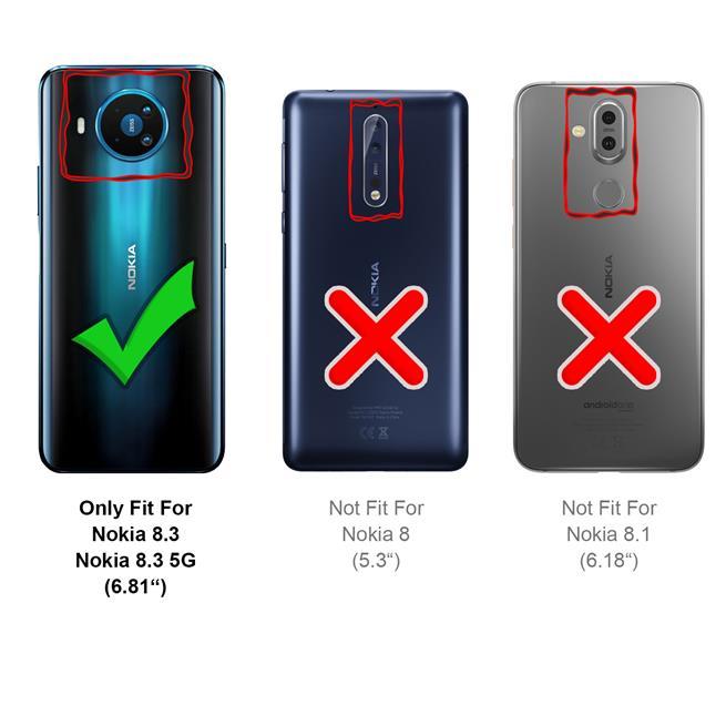 Panzerglas für Nokia 8.3 5G Glas Folie Displayschutz Schutzfolie